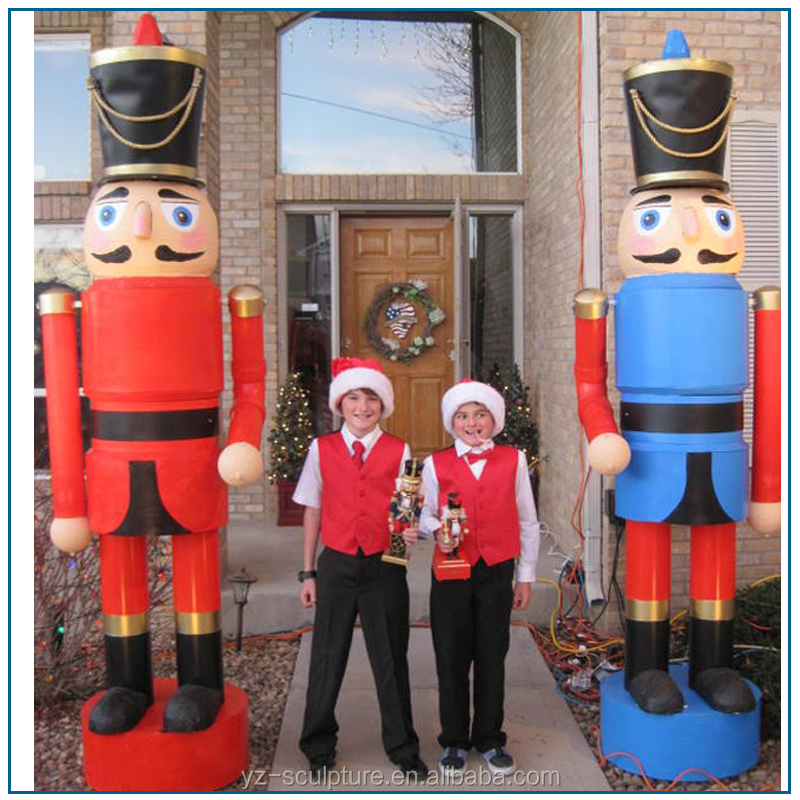 Christmas Decoration Large Size Fiberglass Soldier Nutcracker Statue For Sale Buy Christmas Nutcracker Statue Solider Nutcracker Statue Fiberglass Nutcracker Statue Product On Alibaba Com