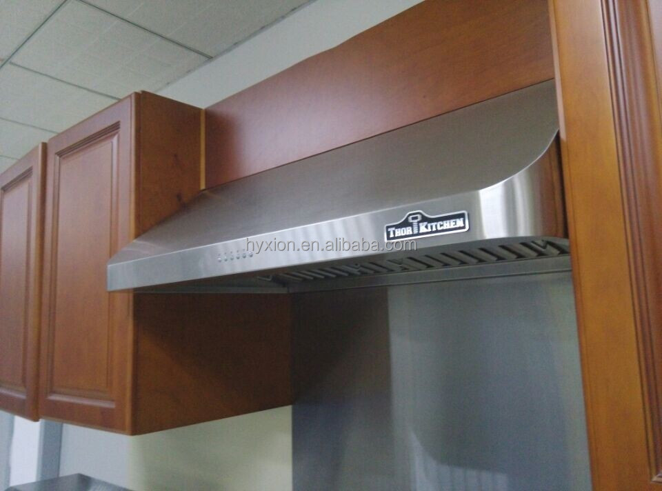 Heavy Duty Ss Kitchen Cooker Extractor Hood For Canada