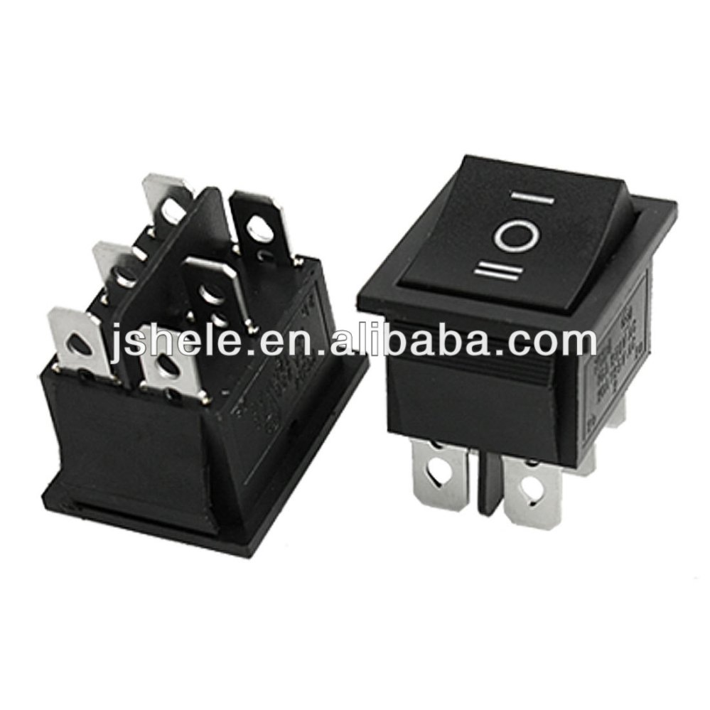 medium resolution of 6 pin dpdt on off on 3 position snap in rocker switch 15a 250v 20a rh alibaba com spdt momentary switch wiring diagram dpst toggle switch diagram