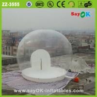Bubble Dome Tent Hot 0.6mm Pvc Inflatable Transparent ...