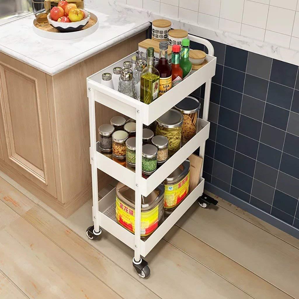 cheap kitchen storage daisy decor shelves find deals on get quotations lxsnail creative multi storey vegetable 3 ply mobile