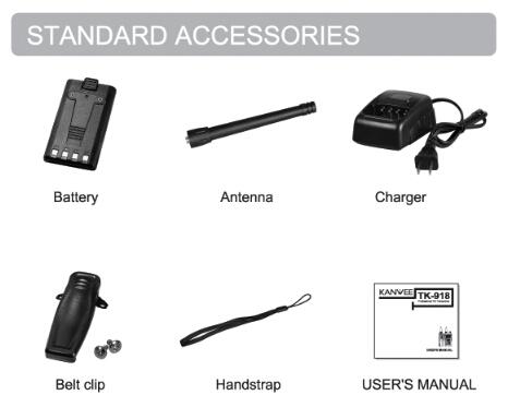 Tk-918 Handheld Walkie Talkie With Lcd Display/ Keypad