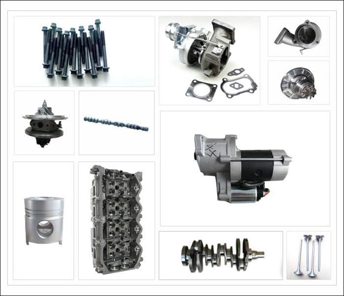 4jb1 Crankshaft For Isuzu 4jb1 Engine Oem No. 8944436620