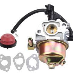 get quotations kizut 951 12705 951 10974a carburetor with primer bulb gaskets for mtd cub [ 1000 x 1000 Pixel ]