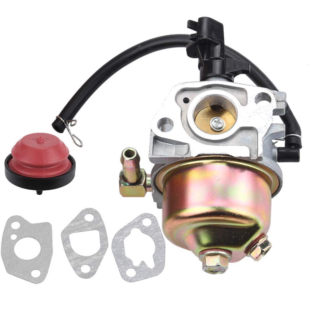 hight resolution of get quotations kizut 951 12705 951 10974a carburetor with primer bulb gaskets for mtd cub