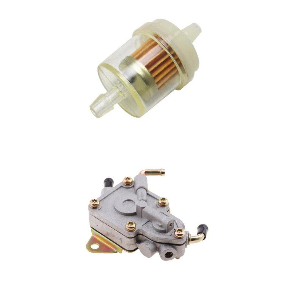 medium resolution of baoblaze fuel pump filter for yamaha rhino 450 660 utv 5ug 13910 01