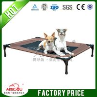 Dog Bed Steel Frame Coolaroo Elevated Pet Bed With Knitted ...
