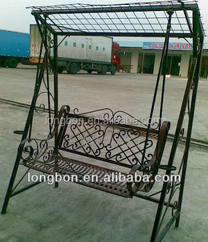 chair design iron covers for sale amazon 2014 top selling outdoor wrought garden swing seats
