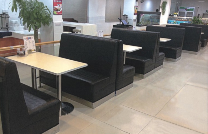 co chairs circle patio cheap modern real leather restaurant booth seating - buy ...