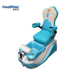 Butterfly Pedicure Chair Cream Tufted Slipper Massage Kid Chairs For Beauty Salon Furniture