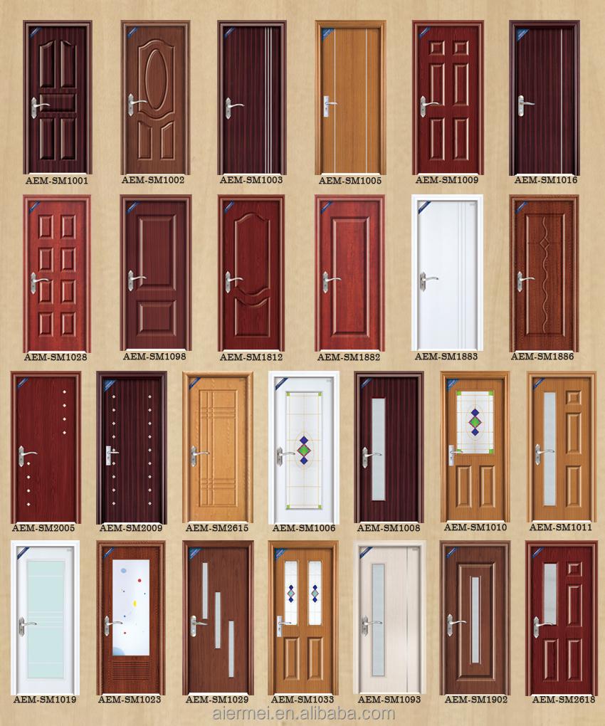Modern Bedroom Door Design With Solid Wood Infilling