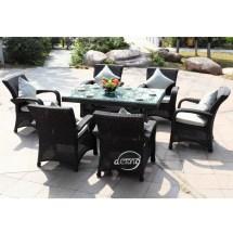 Wicker Rattan Furniture Set Garden