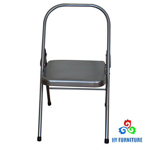 folding metal yoga chair fit ball backless steel chairs supplier buy