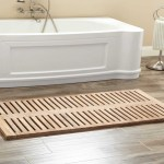 Eco Friendly Bamboo Luxury Large Wood Bath Mat Waterproof Shower Mat With Non Slip Buy Shower Mat Bamboo Bath Mat Non Slip Shower Mat Product On Alibaba Com