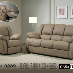 Leather Sofa Manufacturer Malaysia Klaussner Empress Power Reclining Casa Italy F 3239 Buy Recliner