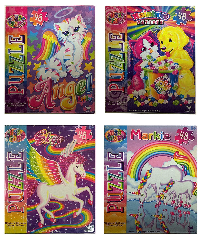 Buy Lisa Frank Super Stationary Set Paper Dolls Activity
