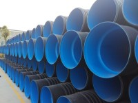 Factory Hdpe Buried Drainage Pipe Sn4 Sn8 Plastic ...