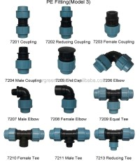 Pe Fitting Coupling With Latch For Sprinkler System - Buy ...