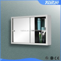 Sliding Stainless Steel Bathroom Mirror Cabinet,Medicine ...