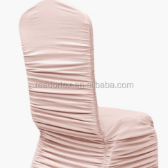 Ruched Chair Covers Bedroom Houzz Sgs Fashion Spandex Banquet Cover Blush Rose Gold Buy