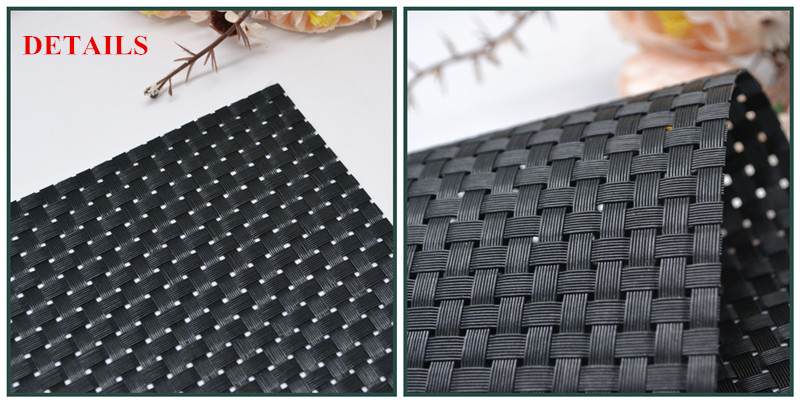 Pvc Vinyl Raw Material For Making Furniture Plastic Woven