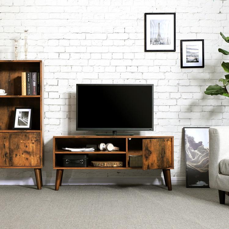 meuble tv lcd portable en bois de salon nouveau modele de simple et moderne support avec vitrine buy meuble tv meuble tv en bois meuble tv product
