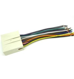 get quotations conpus ford car stereo cd player wiring harness wire aftermarket radio install plug [ 1100 x 1100 Pixel ]