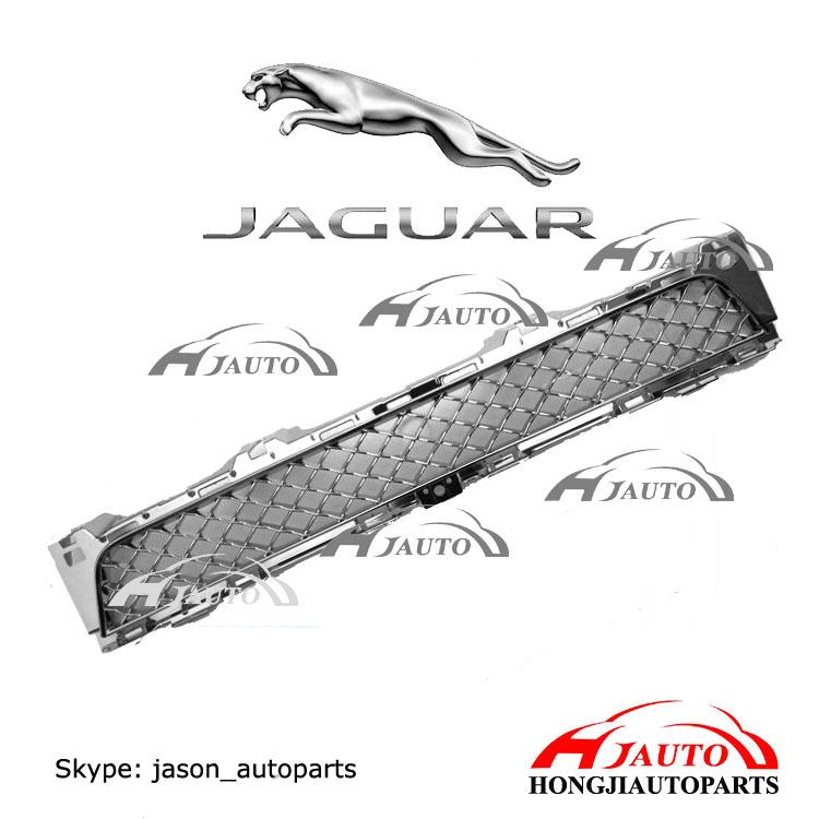 Chrome Front Bumper Lower Grille Jaguar Xj C2d3580 Glossy
