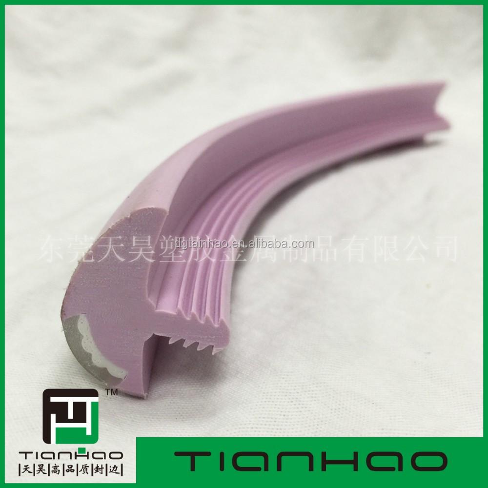 Rubber Plastic T Molding 18mm Edging Edge Banding Trim For