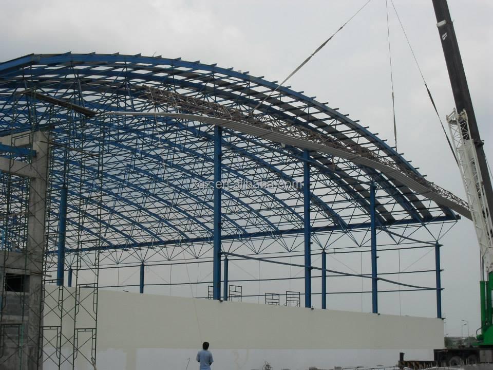 baja ringan lengkung merakit setengah jadi space frame konstruksi atap buy