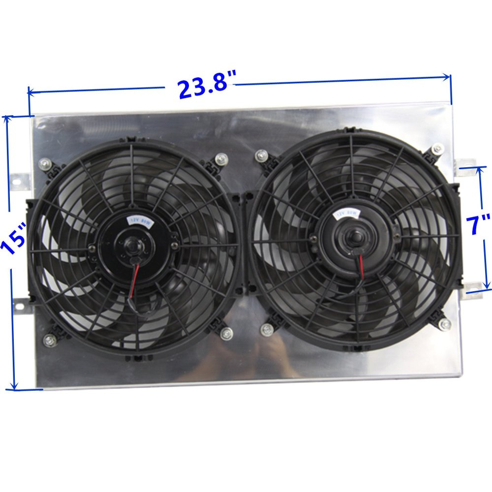 medium resolution of get quotations primecooling radiator cooling fan 12 inches dia aluminum shroud kits for jeep
