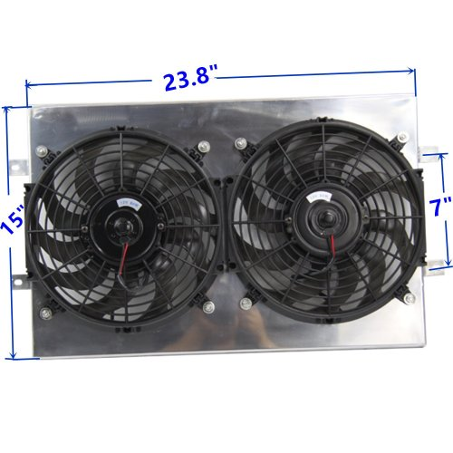small resolution of get quotations primecooling radiator cooling fan 12 inches dia aluminum shroud kits for jeep