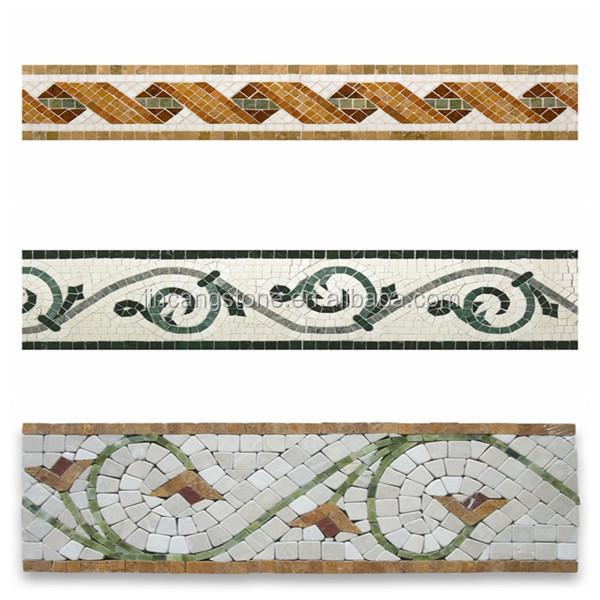 Home Decoration Wall Designs Plaster Of Paris Border Design Mosaic