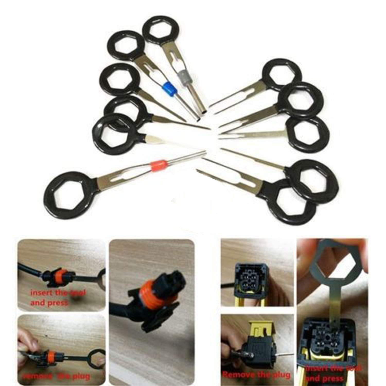 hight resolution of get quotations loveje car plug terminal removal tool electrical wire crimp connector pin extractor car pin extractor kit