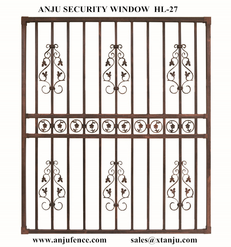 Hot Sale Of Decorative Wrought Iron Window Grill Made In China