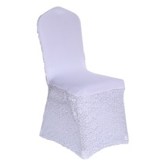 Folding Chair Covers Spandex Cheap Dining Room Tables And Chairs New Design Nylon Elastic Disposable
