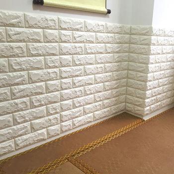 diy adhesive 3d brick