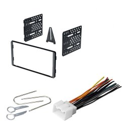 get quotations ford 1998 2005 econoline car radio stereo cd player dash install mounting [ 1000 x 1000 Pixel ]