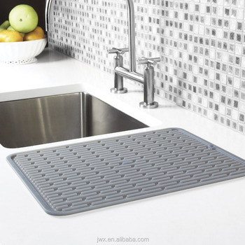 kitchen sink mats white drop leaf table with drain hole rubber mat