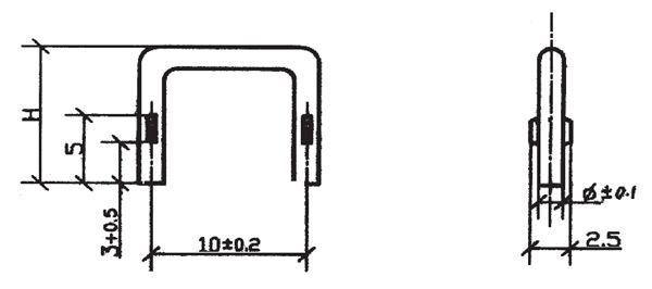 2w Circle-wire Milli-ohm Resistor/thin-wire Sense