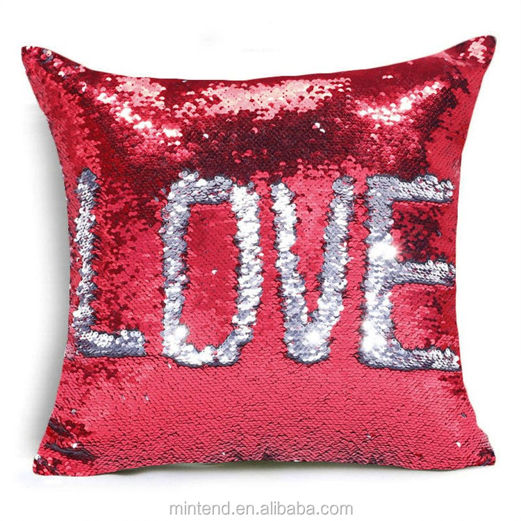 Wholesale Newest Creative Cheap Baby Pillows Sequin Mermaid Pillow  Buy Mermaid PillowSequin