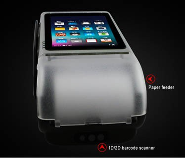Handheld Pos Machine Shell/ Bluetooth Handheld Mobile Pos Terminal With Nfc Reader - Buy Mobile Pos Terminal.Pos Terminals With Printer.Pos ...