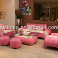 Pink Living Room Set Carpets For Rooms Morden Contemporary Style Leather Sofa Unique Design Sectional Furniture Love Seat Ottoman Buy Full