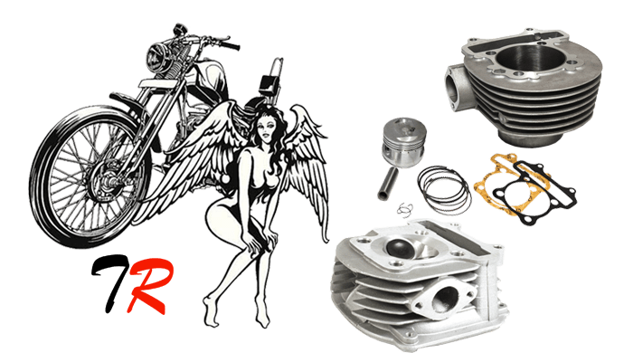 Mbk Booster Mootrycle Cylinder Kit Bws 50cc Scooter