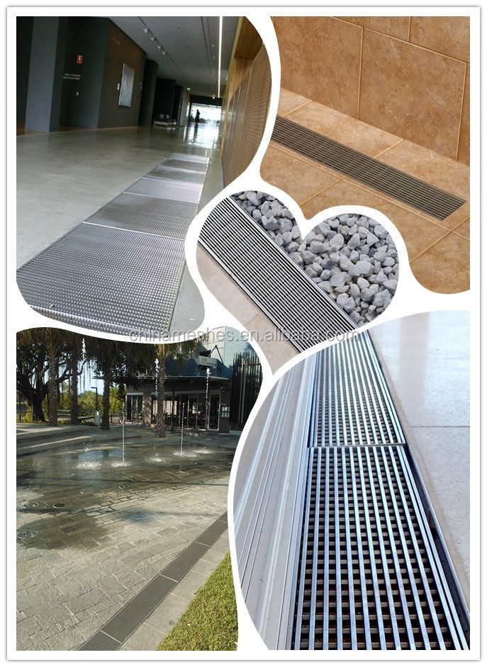 Made In China Interior  Exterior Linear Shower Floor Drain Grates  Buy Exterior Stainless
