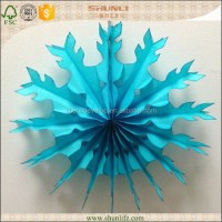 Frozen Theme Party Decoration Cheap Paper Snowflakes