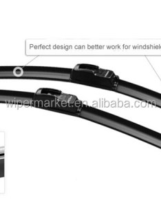 Car windshield wiper replacement banana silicone universal blade chart also rh alibaba