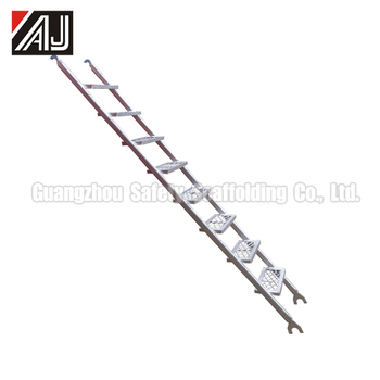 Galvanized Scaffolding Stair Ladder(real Factory In