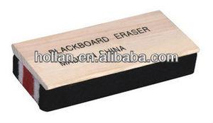 blackboard wooden chalk eraser