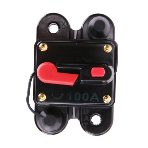 small resolution of get quotations car audio circuit breaker winnereco 100a 12v square car audio inline circuit breaker fuse for